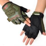 Перчатки Mechanix M-Pact Fingerless (цвет олива)